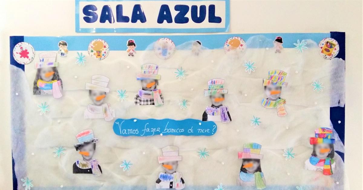 Fazer bonecos de neve
